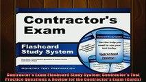 READ book  Contractors Exam Flashcard Study System Contractors Test Practice Questions  Review  BOOK ONLINE