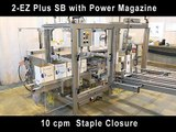 2-EZ Plus Side Belt Case Erector with Staple type seal