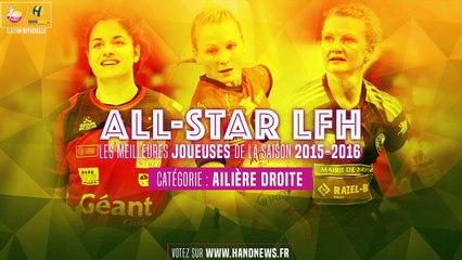 All star LFH 2015-2016 - Nominées Ailière droite