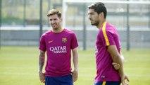 FC Barcelona training session: Preparations continue for Sevilla final