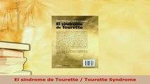 PDF  El sindrome de Tourette  Tourette Syndrome PDF Book Free