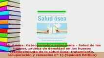 Download  Salud ósea Osteoporosis y osteopenia  Salud de los huesos prueba de densidad en los PDF Book Free