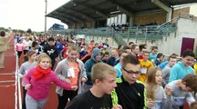 Chauny : 350 élèves du collège Jacques-Cartier  à la course contre la faim