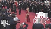 Zapping cannois du 20/05/16 -  Vanessa Paradis, Laurent Weil, Bernard Menez, Bella Hadid - Cannes 2016 - CANAL +