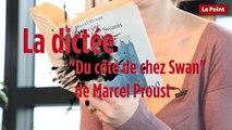 """""""Du côté de chez Swann"""" de Marcel Proust dans la dictée du Point"""