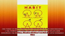 FAVORIT BOOK   The Power of Habit Why We Do What We Do in Life and Business  THE POWER OF HABIT WHY WE  FREE BOOOK ONLINE