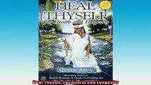 READ FREE FULL EBOOK DOWNLOAD  Heal Thyself For Health and Longevity Full Free