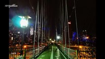 Brooklyn Bridge New York in Night Sep 24 2011