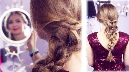 Jak zrobić wieczorową fryzurę w 3 min/TUTORIAL (SoKasia)