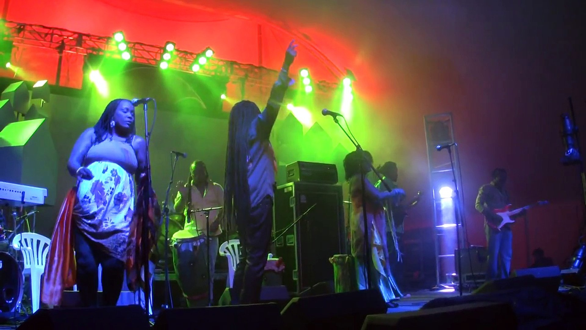 BOUKMAN EKSPERYANS live at LEAF Festival, Black Mountain, North Carolina,5-09-2014. PART 1