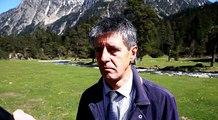 Crash de l'hélicoptere dans les Hautes-Pyrénées : interview du procureur de Tarbes  Eric Serfass