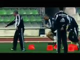 Real Madrid Training Session_ Beckham, Zidane, Ronaldo