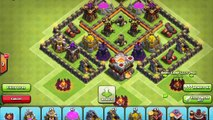 Clash Of Clans | New update 2016!  Th6 Farming base with 2 air defense | Th6 Trophy Base