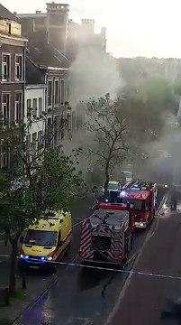 Incendie chez Darcis - Verviers (Crapaurue) - l'Avenir Verviers