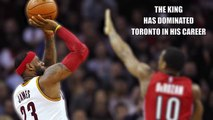 LeBron James vs Toronto Raptors Raptors vs Cavaliers - Series Preview 2016 NBA Playoffs.