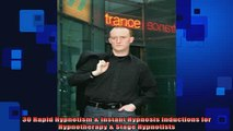 DOWNLOAD FREE Ebooks  30 Rapid Hypnotism  Instant Hypnosis Inductions for Hypnotherapy  Stage Hypnotists Full Free