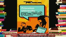 new book  Princeton University Off the Record College Prowler College Prowler Princeton