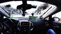 Snow Chasing - Nivotour 23 Gennaio 2015 neve Campo Felice - Assergi - Imperatore - nevicata