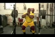 Ronnie Coleman - The King Of Bodybuilding - Leg Training For The Olympia 2007