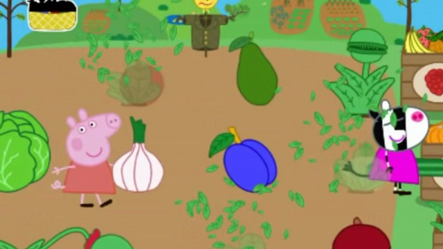 Peppa Pig's Garden ✿ Learn Fruits, Vegetables, Sorting for Kids  Toddlers ✿ Full Gameplay Episode