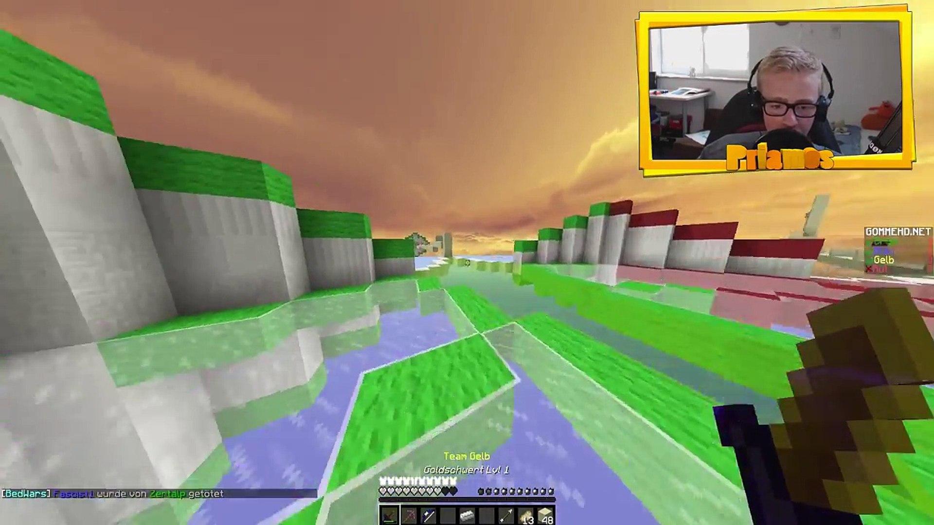 NOSKIN in unserem Team?!?! // Minecraft Bedwars mit Hagen [Full HD 60fps][Facecam]