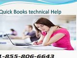Quickbooks Technical support Phone  Number USA 1-855-806-6643