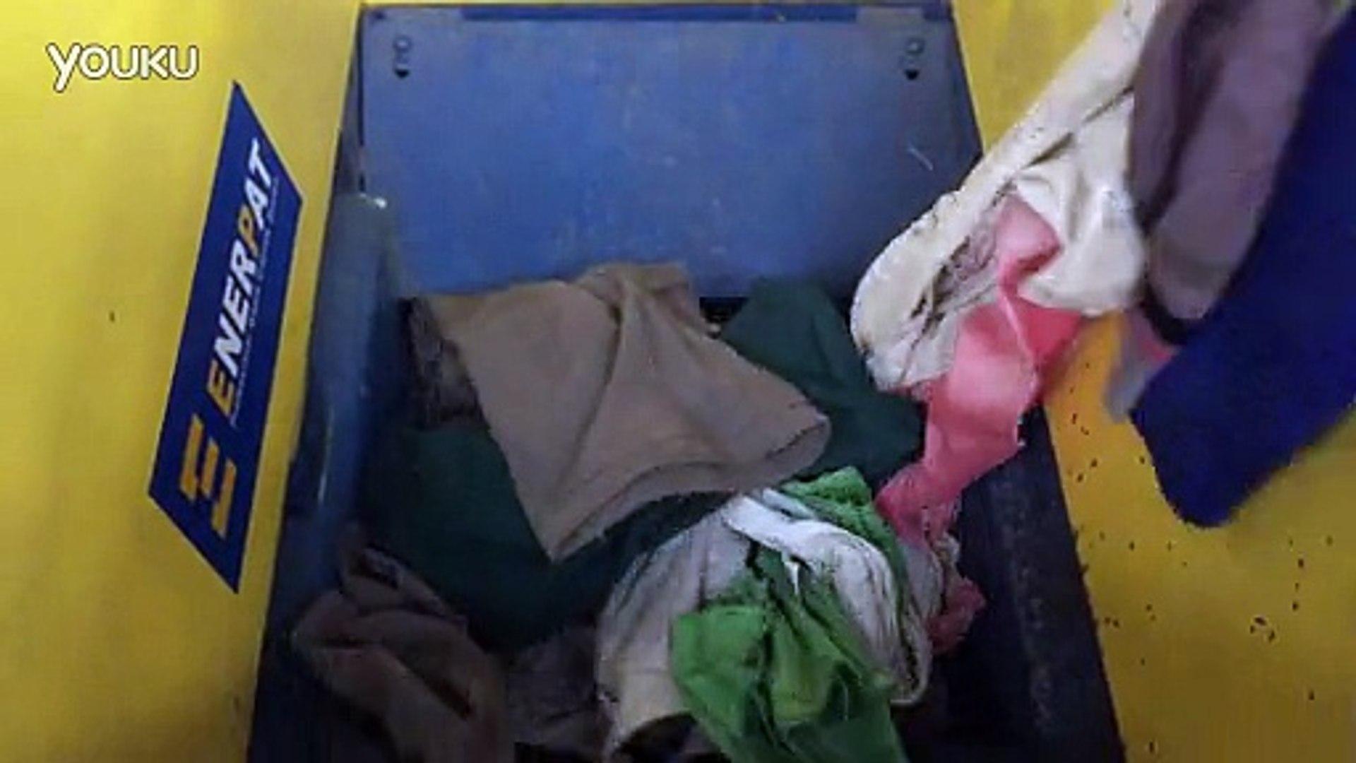 Enerpat waste clothes shredder
