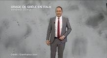 Météo Italie : incroyables chutes de grêle