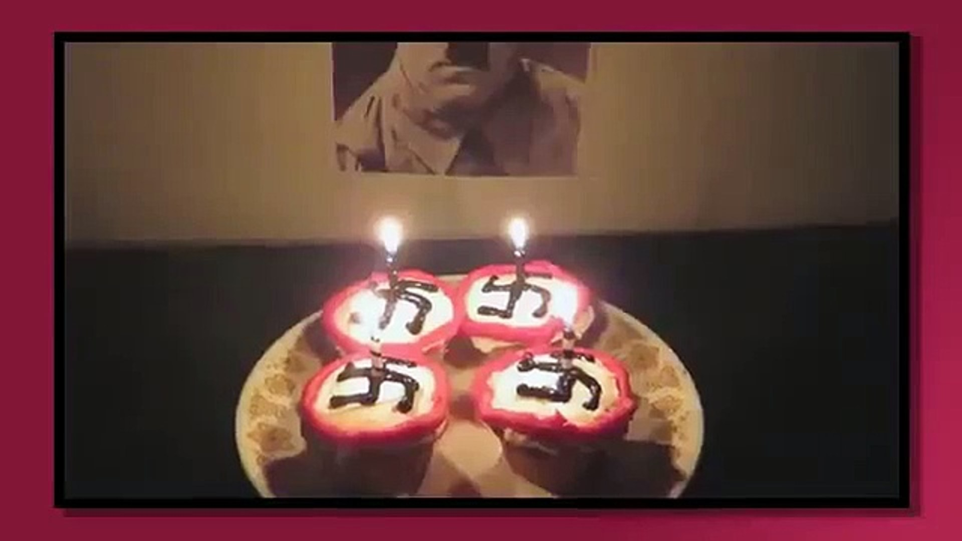 Superb Teen Youtuber Sings Happy Birthday To Hitler In Shock Video Birthday Cards Printable Riciscafe Filternl