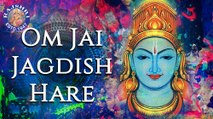 Om Jai Jagdish Hare Aarti With Lyrics | Palak Muchhal | Popular Devotional Aarti In Hindi