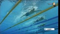 La France en finale du 4x200m nage libre