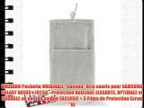 MUZZANO Pochette ORIGINALE Cocoon Gris souris pour SAMSUNG GALAXY NEXUS / I9250 - Protection