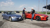 S2000 vs Jaguar F-Type Track Day Test - Project ASS2000 - EP02