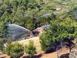 Prévention des incendies de forêts des parcs forestiers par Rain Maker de Protect Forest