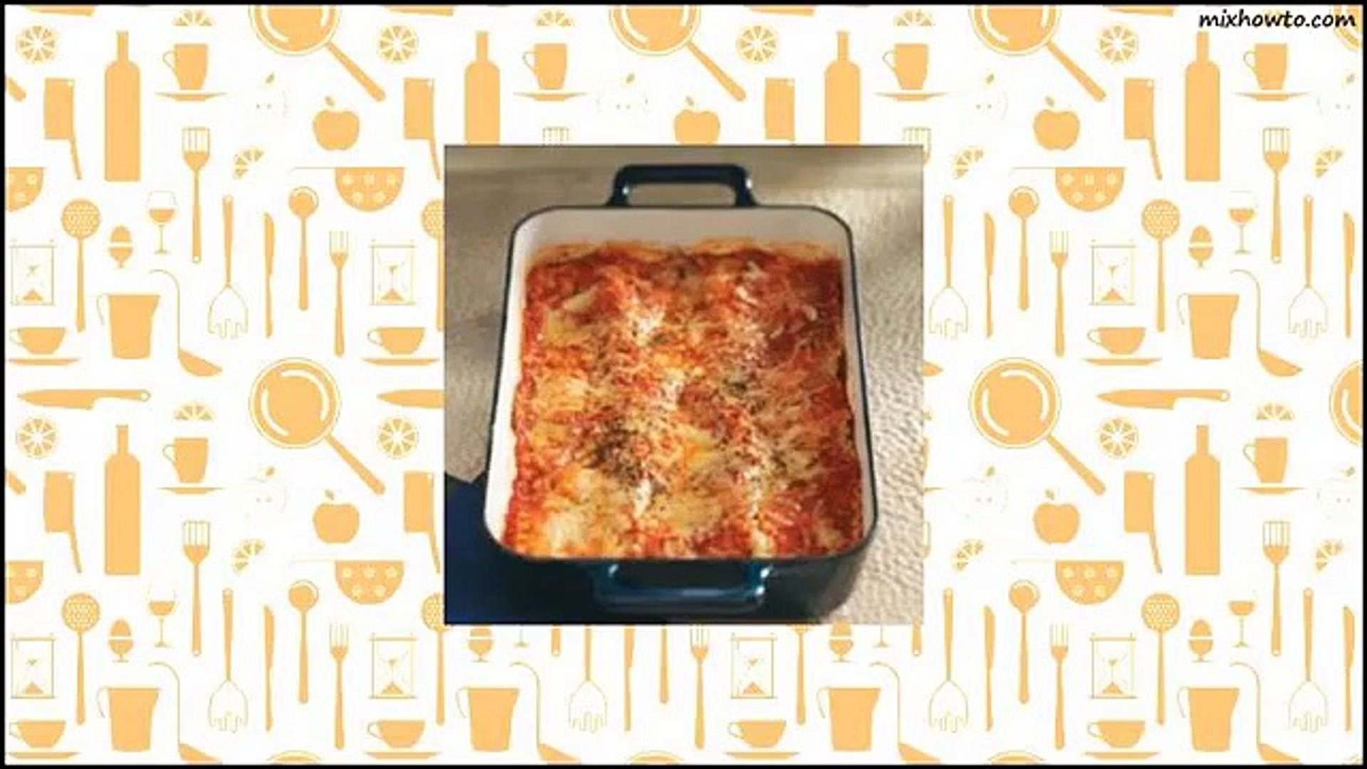Recipe Makeover Beef & Sausage Lasagna Recipe