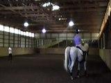 2012.7.23 Dressage riding lesson