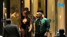 Pics: Tyga's new girl was recruited by 'black Hugh Hefner' as his 'escort'