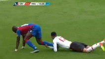 Chris Smalling RED CARD - Crystal Palace vs Manchester United