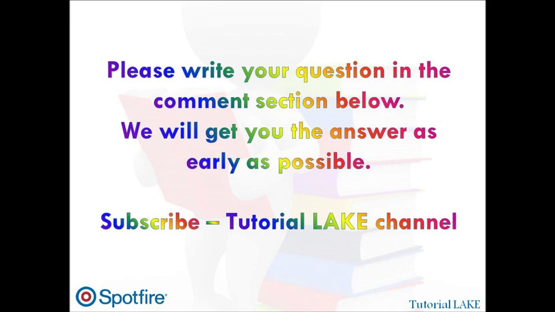 TIBCO Spotfire Interview Questions & Answers - Part 3 of 50