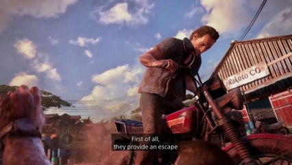 A New Adventure in Video Game Accessibility Video de Uncharted 4 : A Thief's End