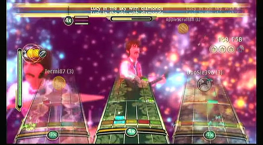Beatles Rock Band - Lucy in the Sky With Diamonds - Full Band