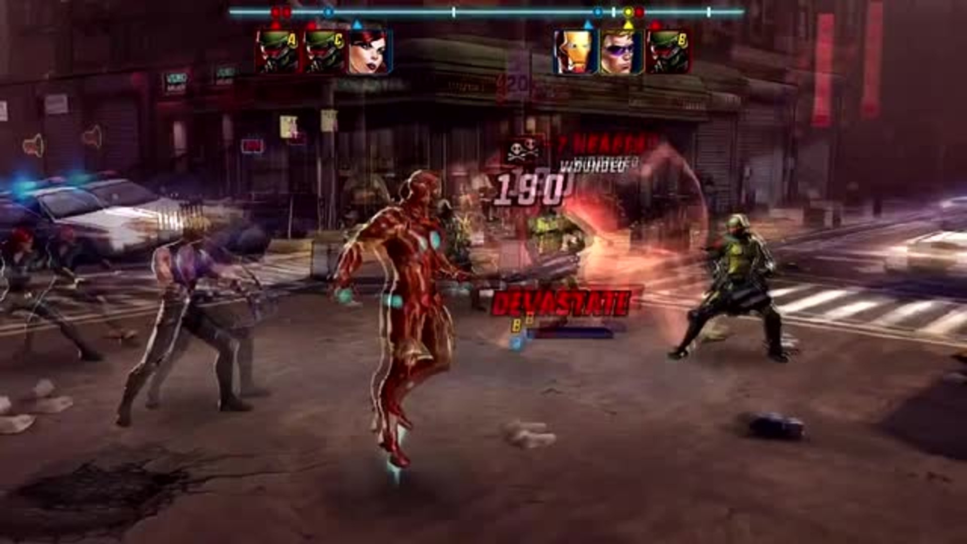 Battle against the evils of the marvel universe with the fast-paced RPG Marvel Avengers Alliance 2