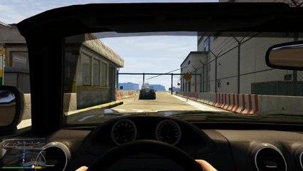 Grand Theft Auto V - actie met de first person view