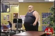 just for gags fat man at gym
