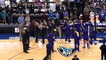 Dallas Mavericks vs. Los Angeles Lakers - Lakers Player Introduction - February 22, 2012.MTS