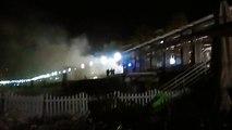 Des bottes de pailles du Mud Day incendiées pendant la nuit