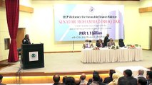 Chairman SECP Zafar Hijazi addressing  at Authorization of Payment to the Depositors of IIBT