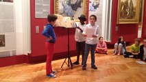 Pour la Nuit des musées, au MAHB, les CM1-CM2 de Subles et de Chartier