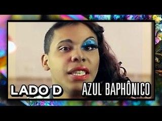 [LADO D] Azul Baphônico - Olho com Glitter - Nataliya Goncharova