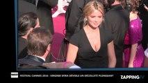 Festival Cannes 2016 : Virginie Efira sexy met le feu au tapis rouge avec un décolleté vertigineux (Vidéo)